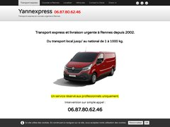 Yannexpress transport express et course urgente Rennes.